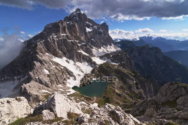 Civetta Mount, Dolomites, Belluno, Veneto, Italie — Photo de stock