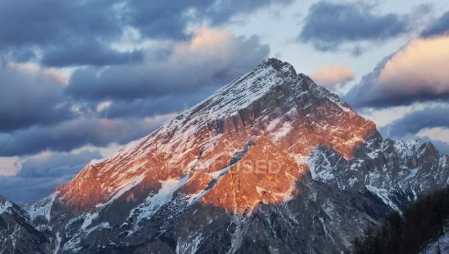 Antelao, Dolomites, Borca di Cadore, Veneto, Italie — Photo de stock