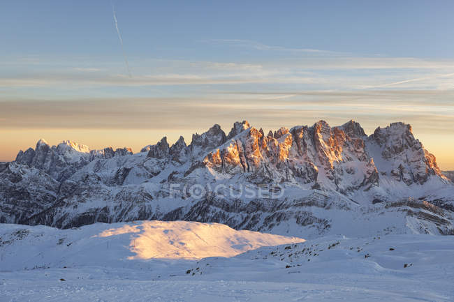 Pale di San Martino, Dolomites, Trentin-Haut-Adige, Italie — Photo de stock