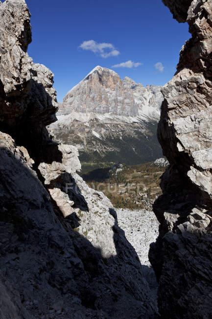 Tofana di Rozes, Ampezzo Dolomites, Cortina d'Ampezzo, Veneto, Italie . — Photo de stock