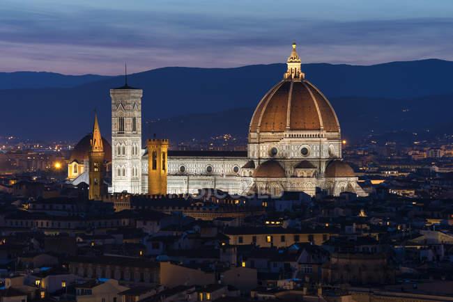 Catedral de Santa Maria del Fiore, Florença, Toscana, Itália, Europa — Fotografia de Stock