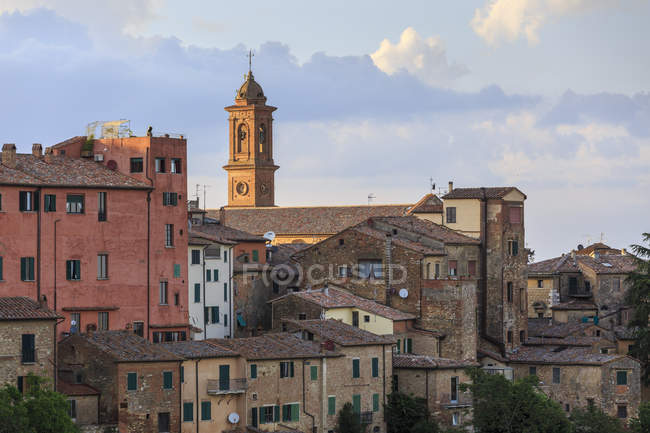 Cityscape, Montepulciano, Tuscany, Italy, Europe — Stock Photo