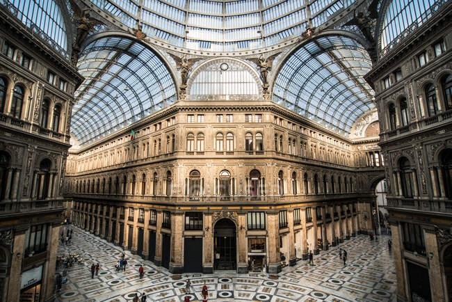 Galleria Umberto, Naples, Campania, Italy, Europe — стоковое фото
