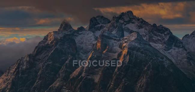 Cimon Froppa, Marmarole, Auronzo, Cadore, Dolomites, Veneto, Italy — стокове фото
