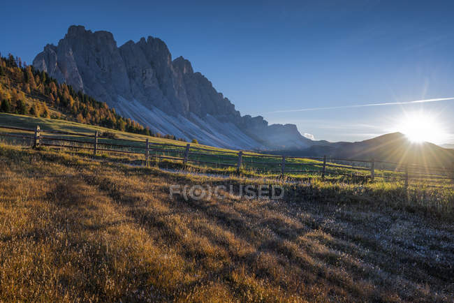 Puez Olde Natural park, Trentino-Alto Adige, Dolomites, Alps, Italy — Stock Photo