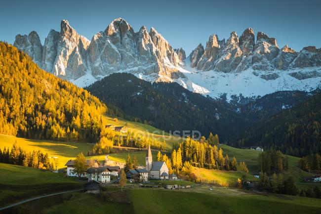 Val di Funes, Trentino-Alto Adige, Itália — Fotografia de Stock