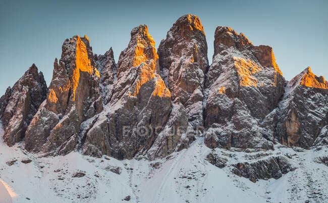 Funes Valley, Trentino-Alto Adige, Italy — Stock Photo