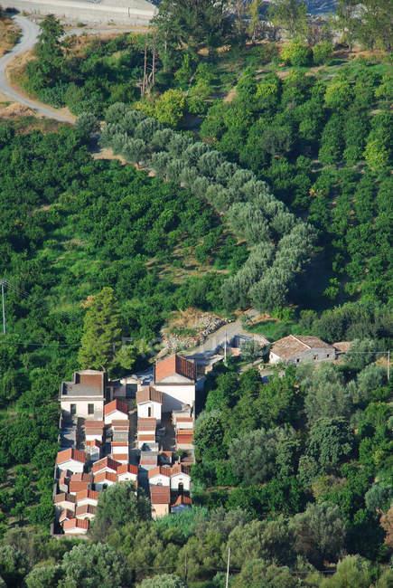 Amendolea village, Aspromonte, Calabria, Italy, Europe — Stock Photo