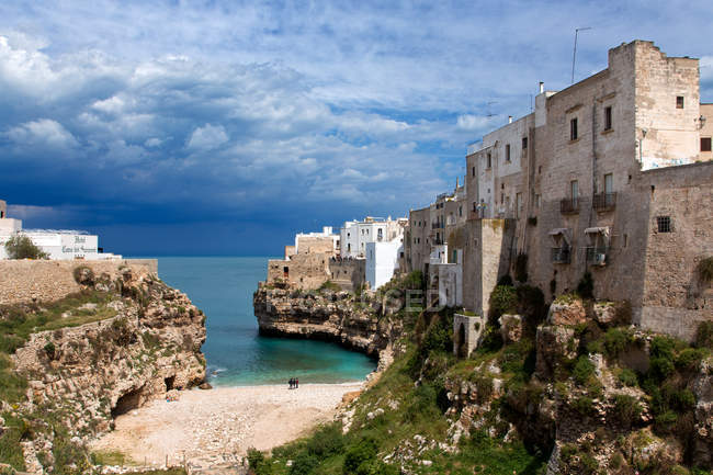 Polignano a Mare village, Apulia, Italy, Europe — Stockfoto