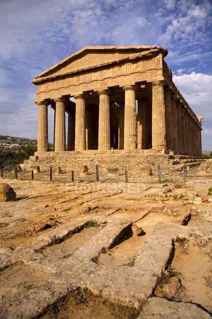 Валле-дей-темпі долині, Агрідженто, Сицилія, Італія, Європа — стокове фото