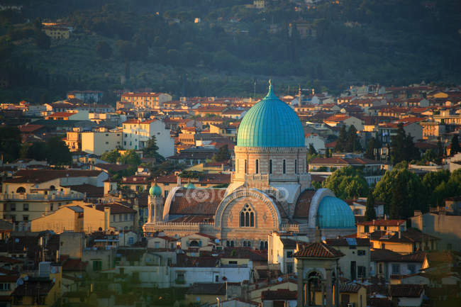 Synagogue, Florence, Tuscany, Italy — Stock Photo