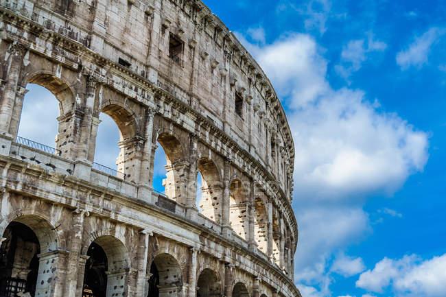 Colosseo, Coliseu, Roma, Lácio, Itália, Europa — Fotografia de Stock