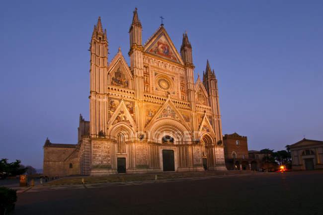 Catedral de Santa Maria Assunta, Orvieto, Umbría, Italia, Europa - foto de stock