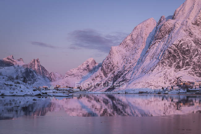 Reine, Lofoten Island, Norvège, Europe — Photo de stock