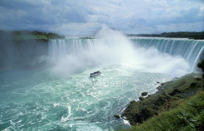 View of  niagara falls, canada — Stock Photo