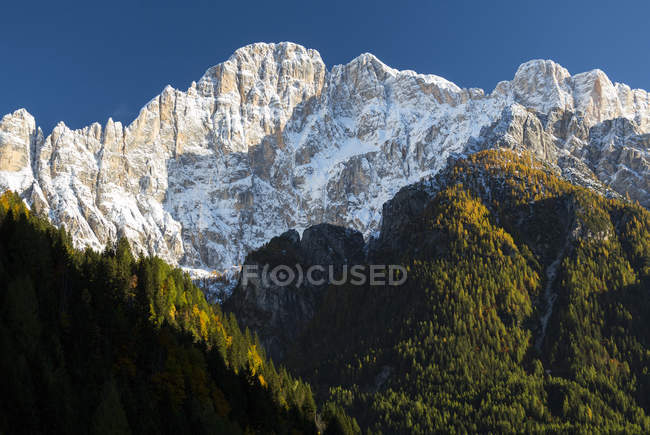 Civetta in autumn, Alleghe, Veneto, Italy, Europe — Stock Photo