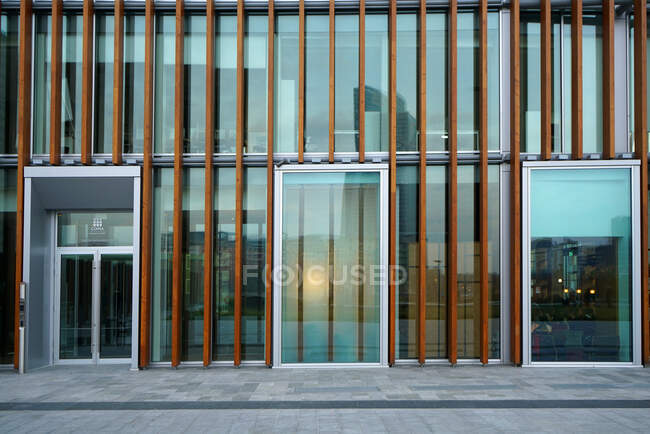 Piazza Gae Aulenti in winter time, Porta Nuova district, Milan, Lombardy, Italy, Europe — Stock Photo
