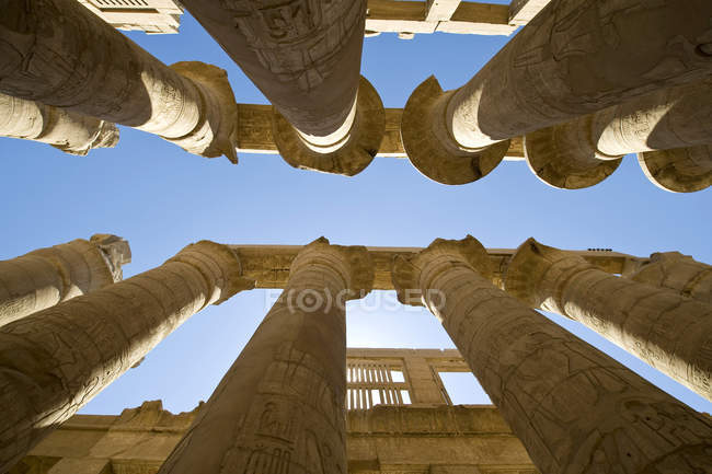 Tempio di Karnak, Luxor, Egitto — Stock Photo
