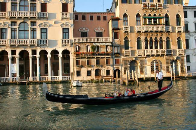 Canal Grande, Sestiere Cannaregio, Venezia, Veneto, Italia — Foto stock