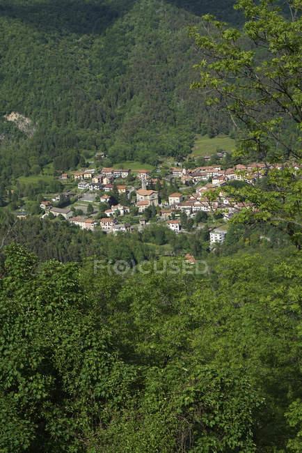 San Gottardo village, Sacro Monte di Varese, UNESCO, World Heritage Site, Lombardy, Italy, Europe — Stock Photo