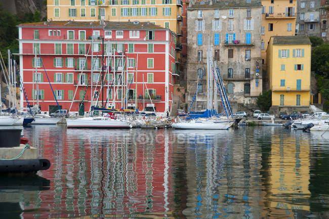 Marina, Bastia, Corsica, Francia, Europa — Foto stock