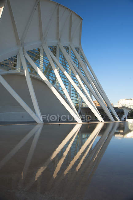 Museu de les Ciences Principe Felipe, Valencia, Spagna, Europa — Foto stock
