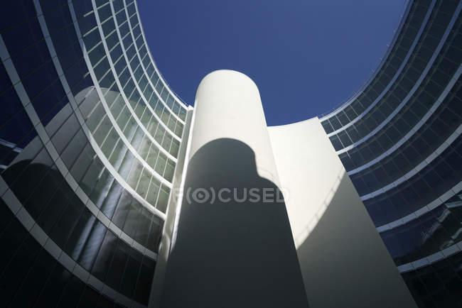Residenza Universitaria Castiglioni, Bocconi Urban Campus, Costa Zanibelli Associati Studio di Architettura, Milan, Lombardie, Italie, Europe — Photo de stock
