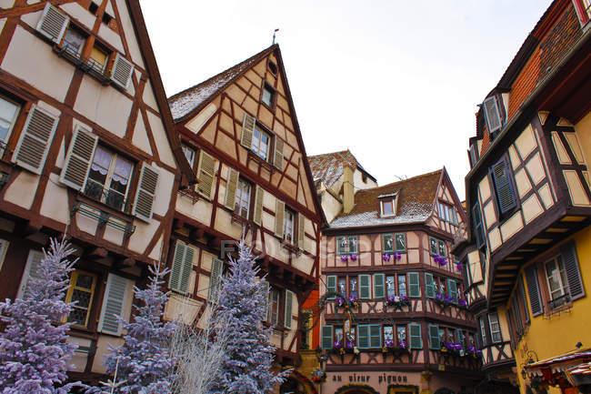 Рождество, Colmar, Эльзас, Франция, Европа — стоковое фото