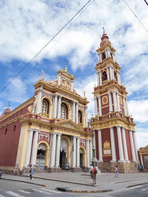 Igreja de São Francisco. Cidade Salta, no norte da Argentina, localizada no sopé dos Andes.