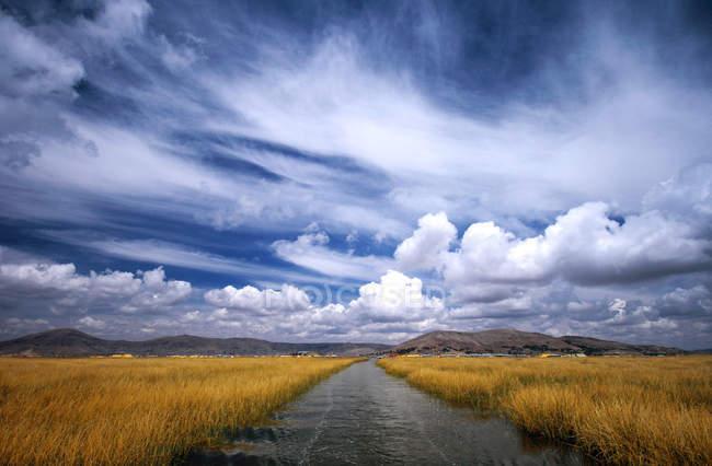Titicaca Lake, Puno, Peru, South America — Stock Photo