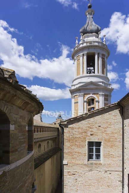 Santuario de Madonna di Loreto, Ronda Walk, Loreto, Marche, Italia, Europa - foto de stock