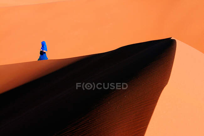Dunes, Sahara desert, Morocco, North Africa — Stock Photo