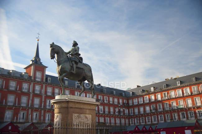 Plaza Mayor, Madrid, España, Europa - foto de stock