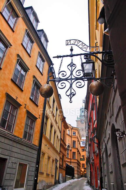 Gamla Stan, Stockholm, Sweden, Europe — Stock Photo