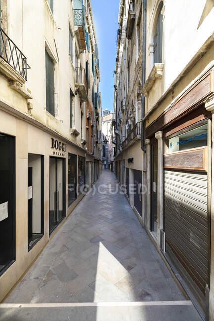 Mercerie, COVID-19 lifestyle, Venecia, Veneto, Italia, Europa - foto de stock