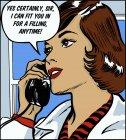 Стоматолог розмовляє по телефону — стокове фото