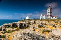 Океан побережье Португалии — стоковое фото