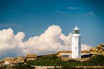 Godrevy Leuchtturm an der Küste Cornwalls — Stockfoto