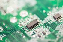 Close-up view of circuit board — Stock Photo