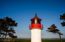 Сцена с видом на маяк — стоковое фото