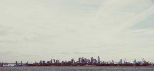 Panoramica skyline di New York city, Stati Uniti — Foto stock