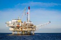 Oil Rig Costruction — стокове фото