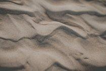 Surface de sable sec lumière — Photo de stock