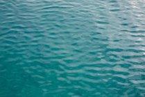 Vista de textura da superfície de água de mar — Fotografia de Stock