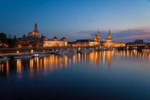 Historical architecture in Dresden — Stock Photo