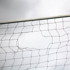 Close-up view of hole in volleyball net — Stock Photo