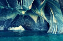 Cave natural formation landscape — Stock Photo