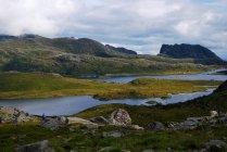 Vista panorâmica da Noruega — Fotografia de Stock