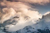 Panorama delle Alpi austriache — Foto stock