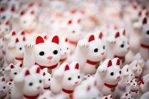 Maneki neko cats — Stock Photo